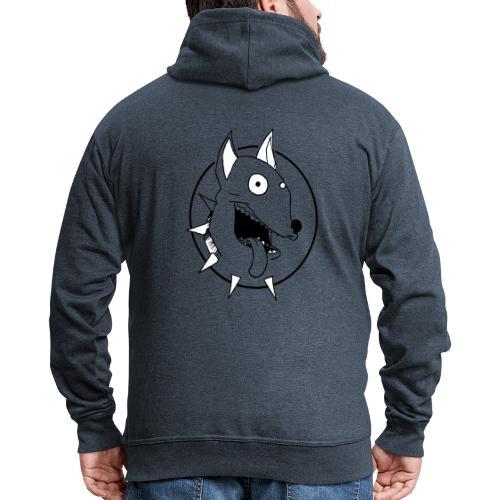 chien fou - Veste à capuche Premium Homme