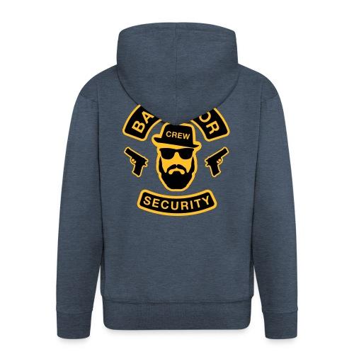 Bachelor Security - JGA T-Shirt - Bräutigam Shirt - Männer Premium Kapuzenjacke