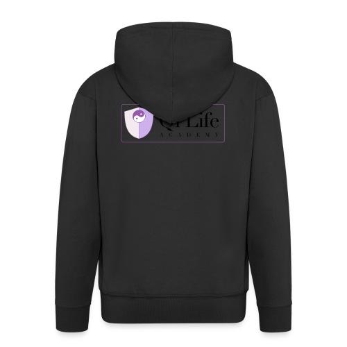 Qi Life Academy Promo Gear - Men's Premium Hooded Jacket
