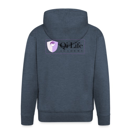 Qi Life Academy Promo Gear - Men's Premium Hooded Jacket
