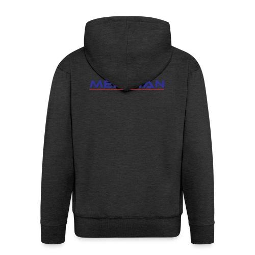Meridian - Felpa con zip Premium da uomo