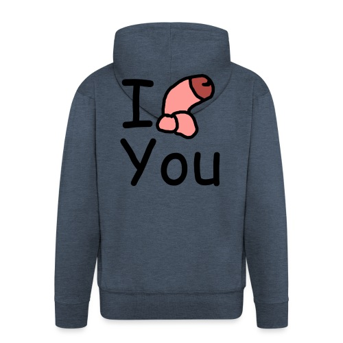 I dong you cup - Men's Premium Hooded Jacket