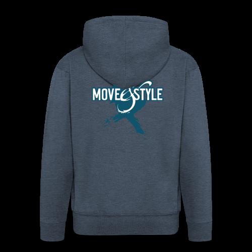 Move and Style Dance Academy - Männer Premium Kapuzenjacke
