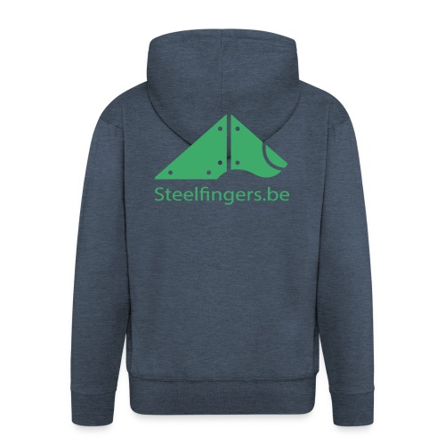 Steelfingers shirts - Mannenjack Premium met capuchon