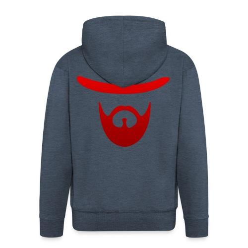 logo izicron rouge - Veste à capuche Premium Homme