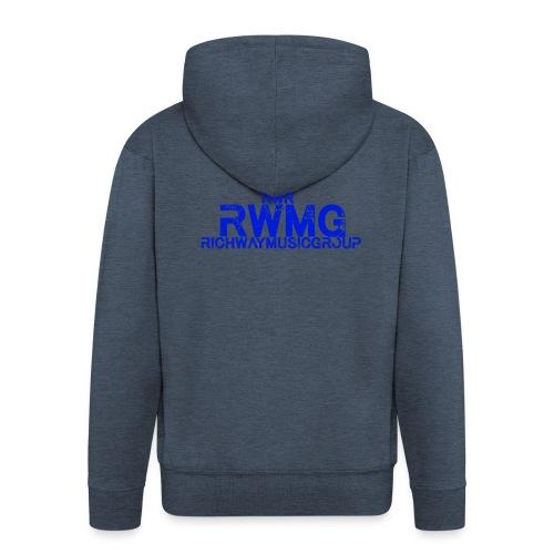 RWMG_Blue - Mannenjack Premium met capuchon