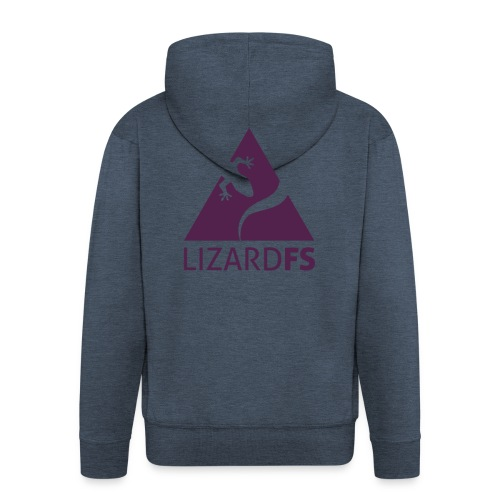 logo lizardFS - Men's Premium Hooded Jacket
