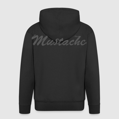 Black Lettering - Men's Premium Hooded Jacket