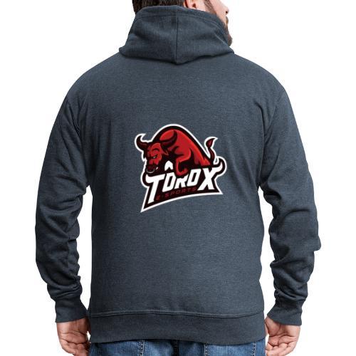 ToroX Standart Logo - Männer Premium Kapuzenjacke
