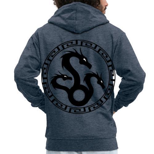 Hydra - Men's Premium Hooded Jacket