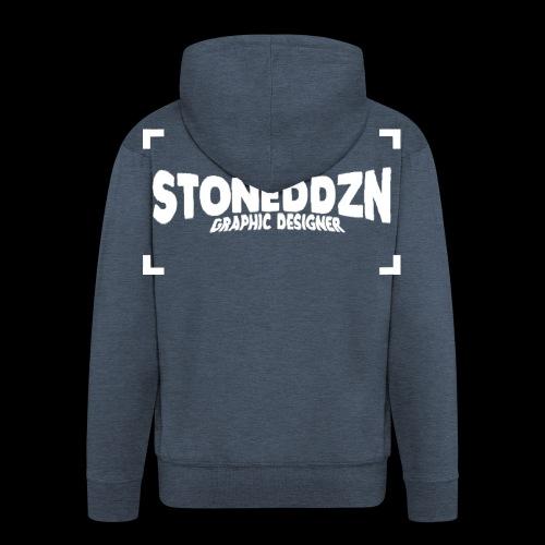 Da ist das YouTube Logo von StonedDzn - Männer Premium Kapuzenjacke
