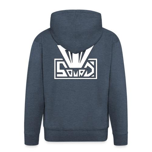 Moio Squad Design 3 - Männer Premium Kapuzenjacke
