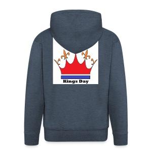 Je taime Kings Day (Je suis...) - Mannenjack Premium met capuchon