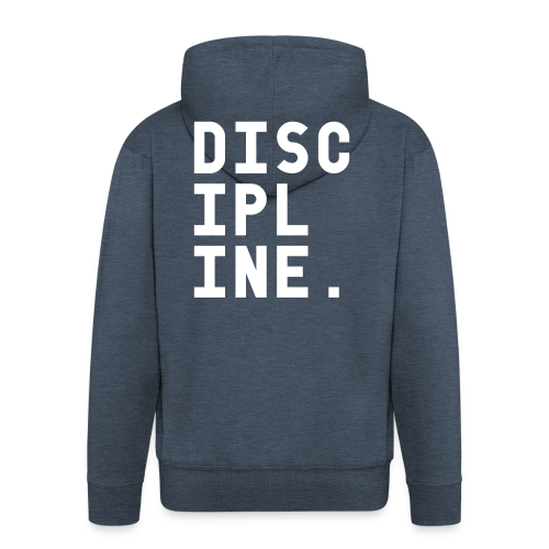 Discipline - Mannenjack Premium met capuchon