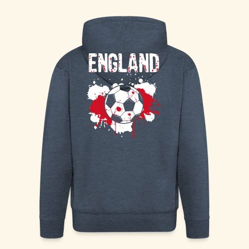 England Meister Fußball Fussball Shirt Geschenk - Männer Premium Kapuzenjacke