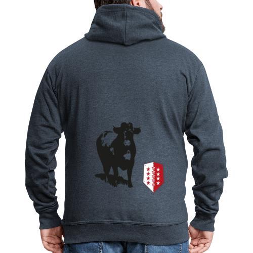 Vache - Cow - Männer Premium Kapuzenjacke