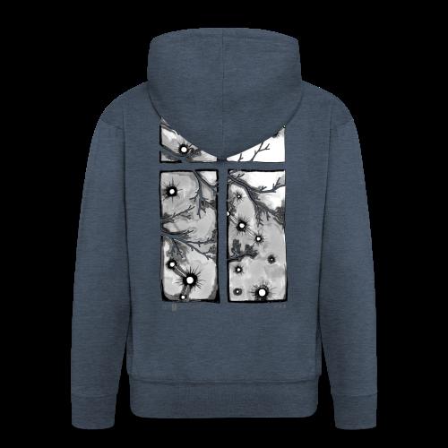 Für immer und ein Tag (grau) - Männer Premium Kapuzenjacke