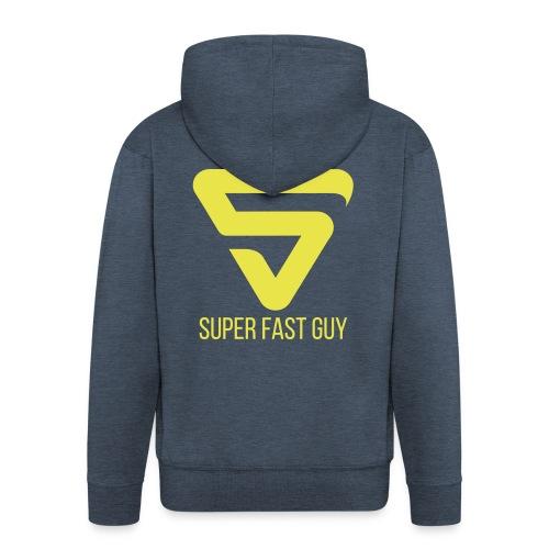 Super Fast Guy - Veste à capuche Premium Homme