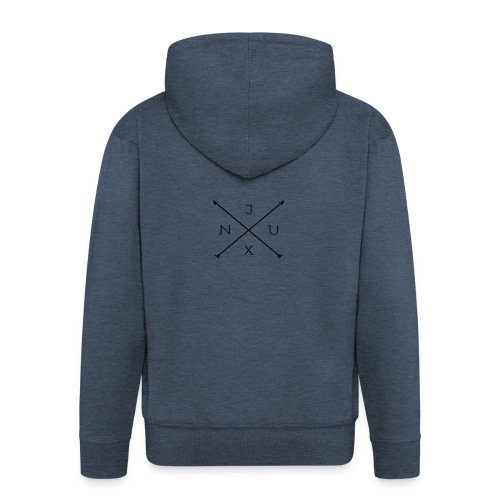 Justxn Logo - Männer Premium Kapuzenjacke