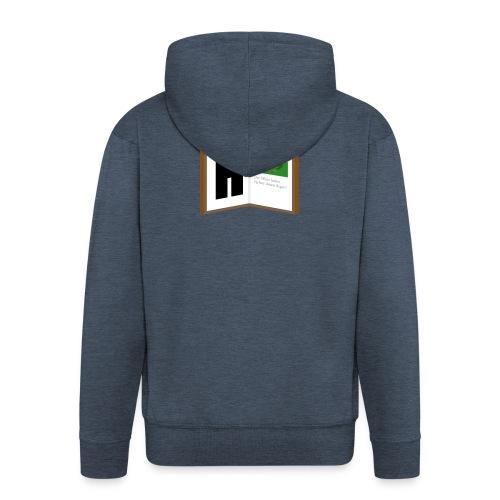 Hyttebok Logo - Premium Hettejakke for menn