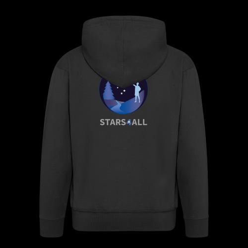 Stars4All - Chaqueta con capucha premium hombre