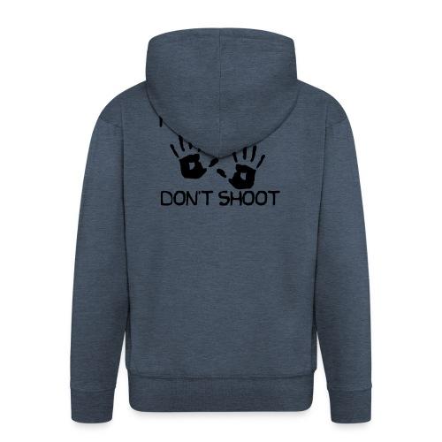 Hands Up Don't Shoot (Black Lives Matter) - Mannenjack Premium met capuchon