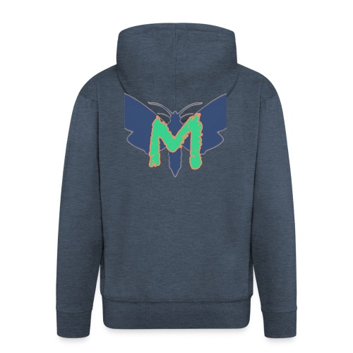 Mothy Ultimatum Logo - Men's Premium Hooded Jacket