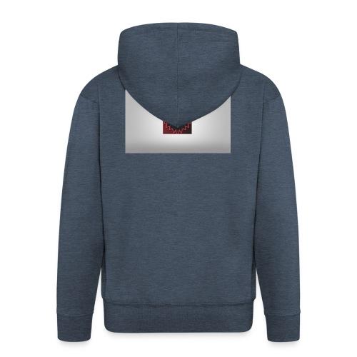 RevelatorHD OFFICIAL Logo - Men's Premium Hooded Jacket
