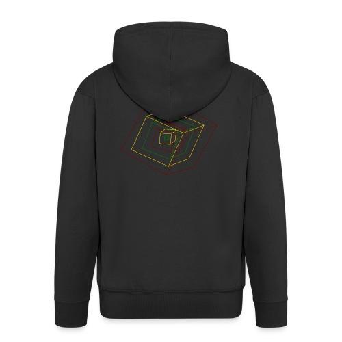Rasta Cubes - Veste à capuche Premium Homme