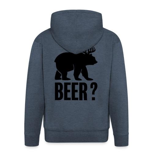 Beer - Veste à capuche Premium Homme