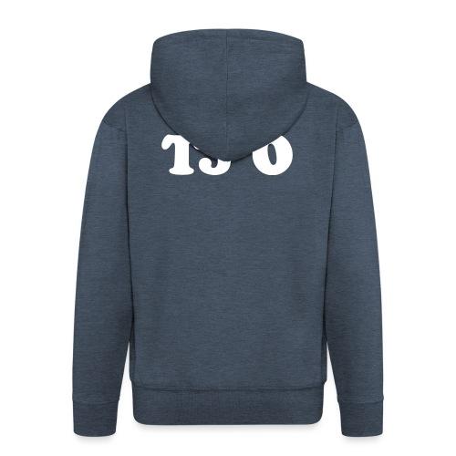 TJ 0 - Miesten premium vetoketjullinen huppari