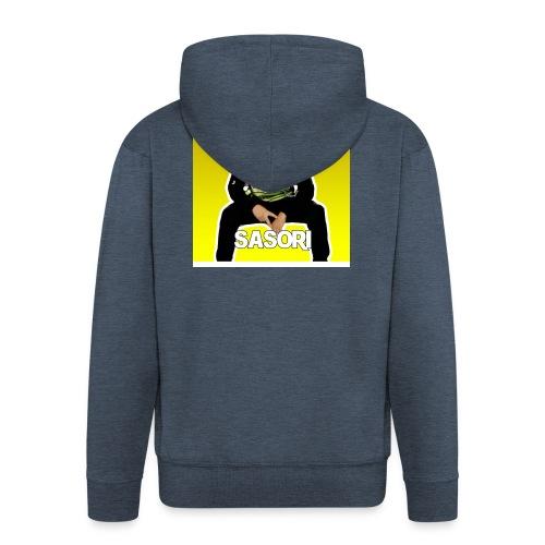 Vetement Sasori YOUTUBE \ Rap - Veste à capuche Premium Homme
