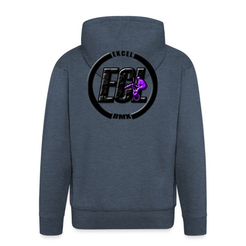 ECLBMX Logo - Men's Premium Hooded Jacket