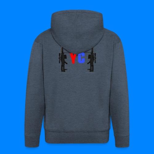Blurixincommander YT AS50 Logo - Männer Premium Kapuzenjacke
