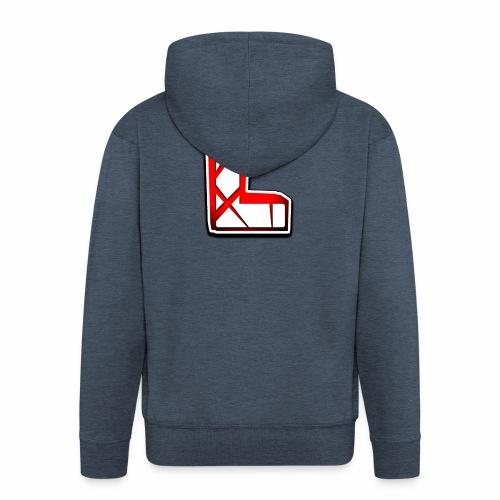 Leon Schmidt LOGO - Men's Premium Hooded Jacket