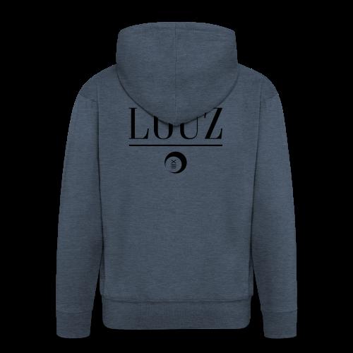 louzwithlogo - Männer Premium Kapuzenjacke