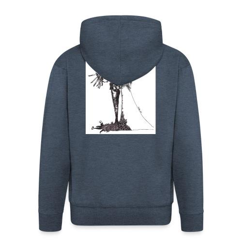 EdwardScissorhands.jpg - Men's Premium Hooded Jacket