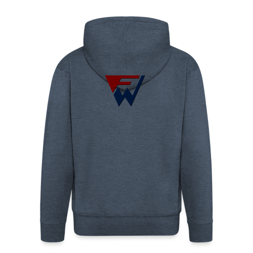 FW Logo - Men's Premium Hooded Jacket