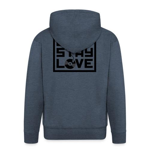 Beat.Stay.Love - Männer Premium Kapuzenjacke