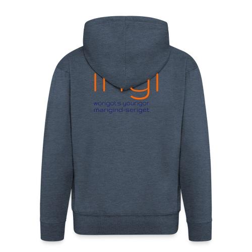 irigi-logo-006 - Men's Premium Hooded Jacket