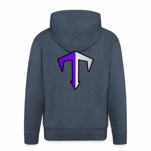 Tubbz Logo - Men's Premium Hooded Jacket