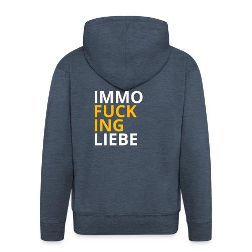 Immo f**cking Liebe! 💛 - Männer Premium Kapuzenjacke
