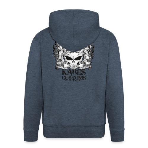 Kabes Tiptoe T-Shirt - Men's Premium Hooded Jacket