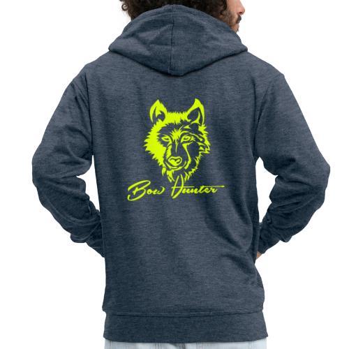 Wolf - Männer Premium Kapuzenjacke