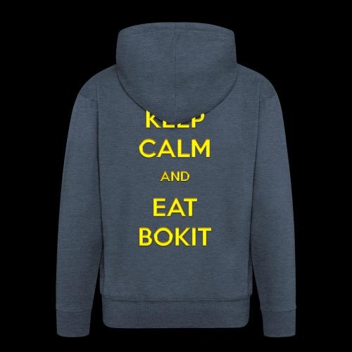 Bokit Keep Calm - Veste à capuche Premium Homme