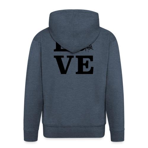 I Love Drums / Schlagzeug T Shirt für Schlagzeuge - Männer Premium Kapuzenjacke