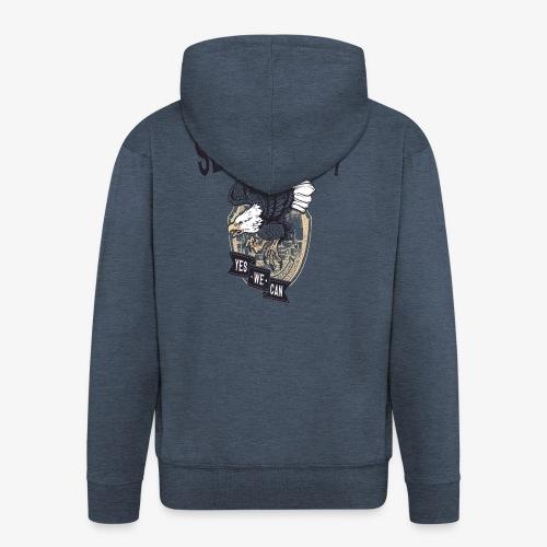 Seek Destroy - Shirts - Mannenjack Premium met capuchon