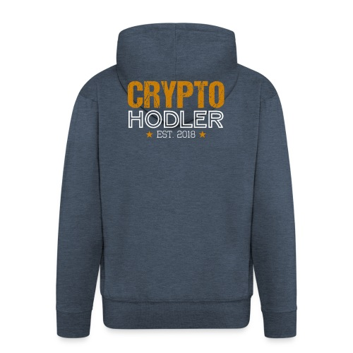 CRYPTO HODLER Est. 2018 - Männer Premium Kapuzenjacke