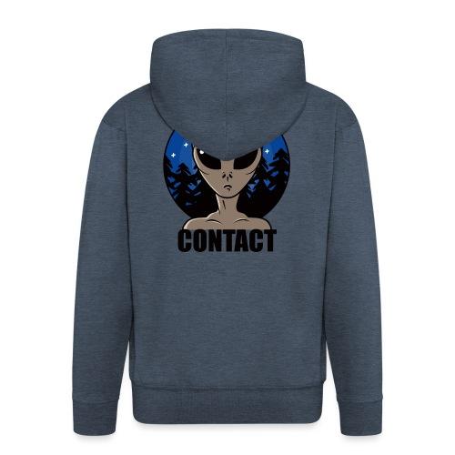 Contact Extraterrestre - Veste à capuche Premium Homme