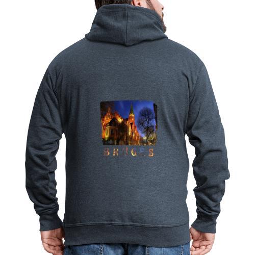 Bruges | By Night - Mannenjack Premium met capuchon